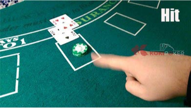 kode hit blackjack