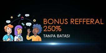 bonus referral 250% kokipoker
