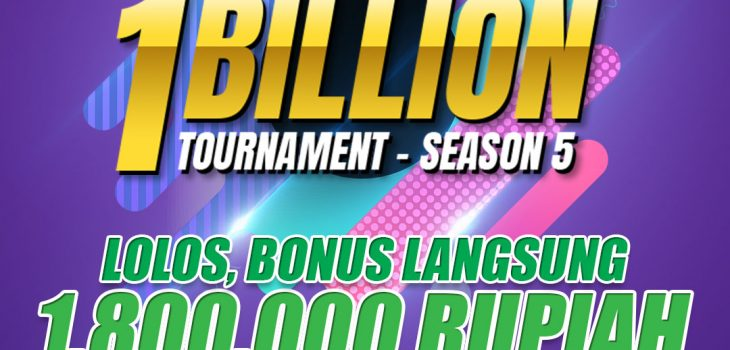Bonus turnamen 1 billion idn play dari kokipoker